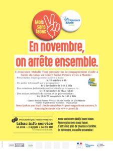 Novembre, le mois sans tabac @ Centre social Pierres Vives | Mansle | Nouvelle-Aquitaine | France